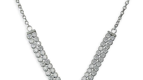 Silver Glitz Necklace