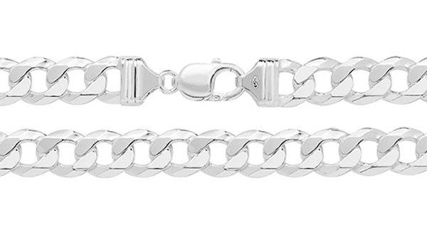 """Silver 22""""Curb Chain"""