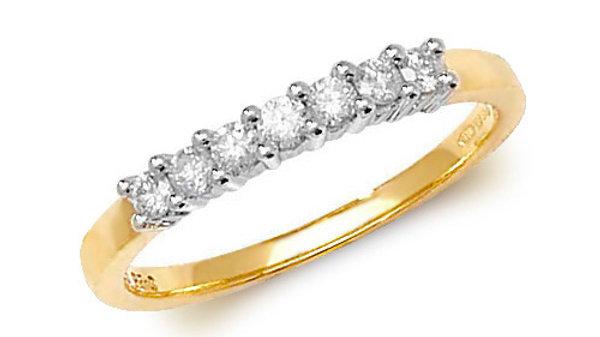 9ct Diamond .25pt ring