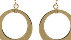 9ct Gold Ring Earrings