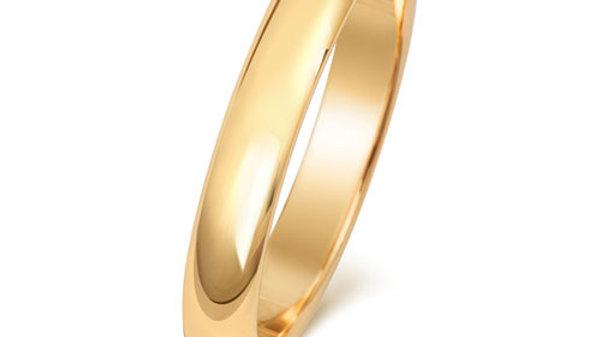 9ct 3mm Gents Wedding Ring