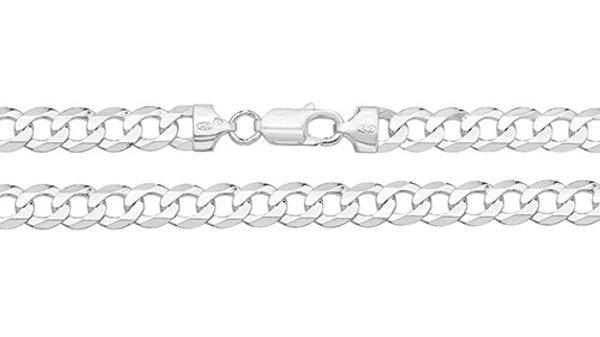 """Silver 20""""Curb Chain"""