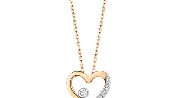 9ct Diamond Necklace