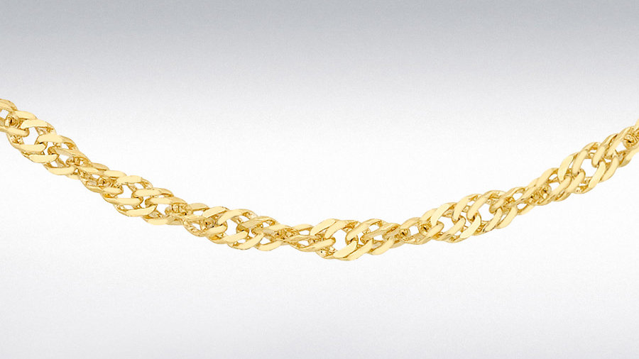 "9ct Gold 18""Chain"