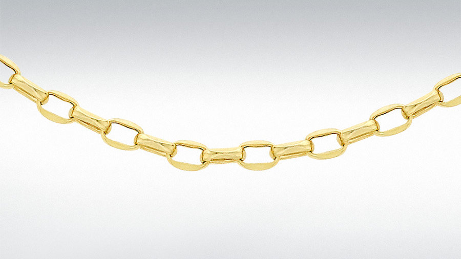 "9ct 18"" Belcher chain"