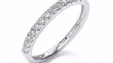 PLATINUM 20PT DIAMOND RING