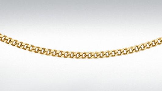 9ct Curb Chain 20 Inch