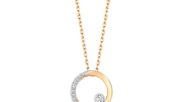 9ct Gold Diamond Necklace