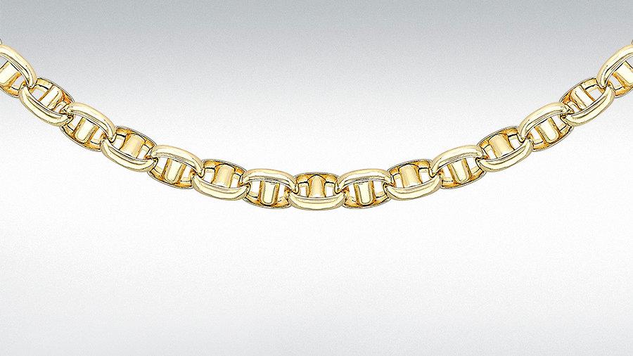 """9ct Gold Belcher Chain 20"""""""