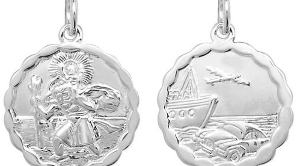 Silver St Christopher