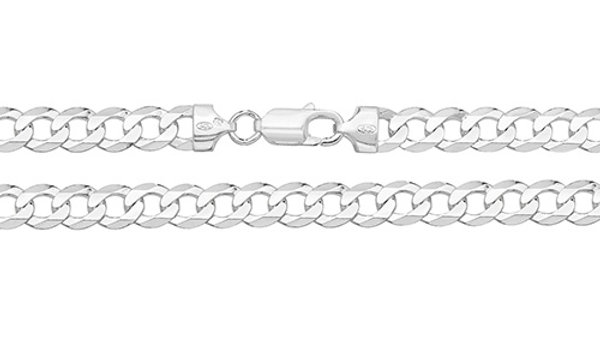 """Solid Silver Chain 20"""""""