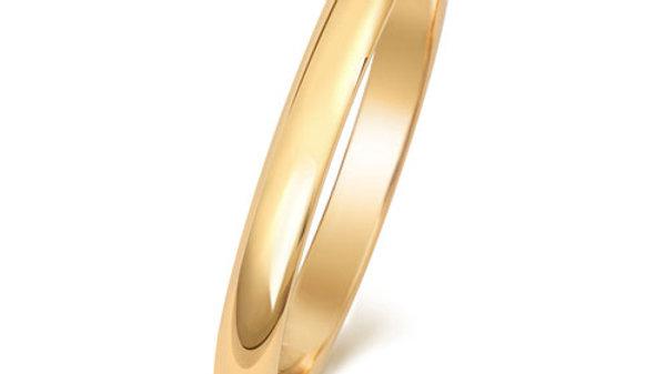 9ct 2mm Ladies Wedding Ring