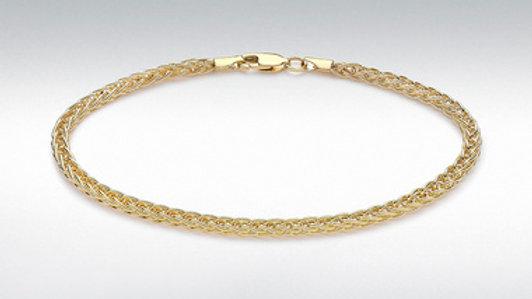 9ct Gold Spiga Bracelet