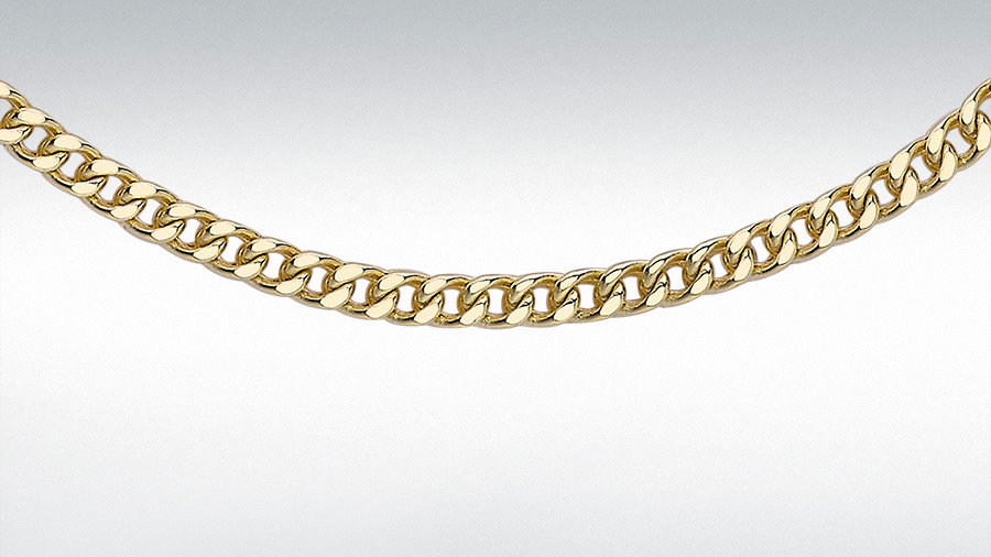 "9ct 18""Gold  Chain"