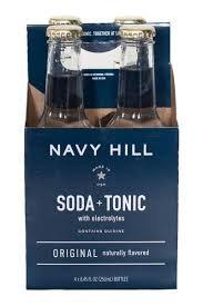 Navy Hill Soda & Tonic Original - 4pk