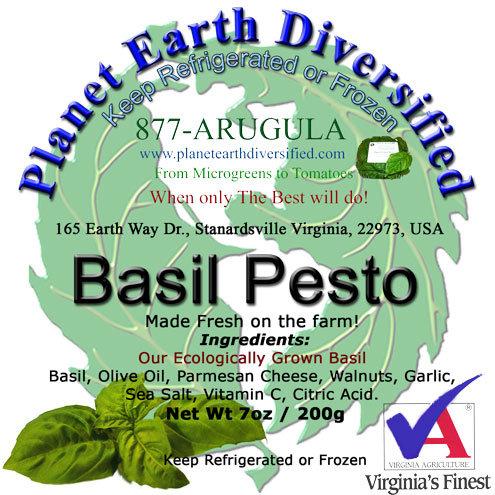Planet Earth Diversified Pesto