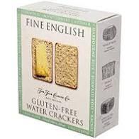 Fine English Gluten Free Water Crackers - 6oz