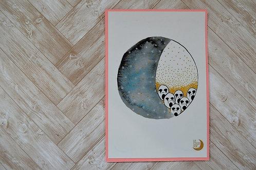 Tirage du peuple de la lune