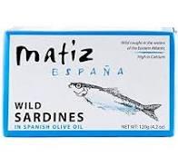 Matiz Sardines in olive oil - 4.2oz