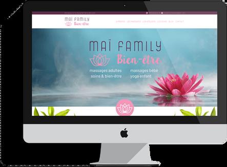 création site salon de massage marseille