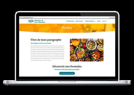 création site équilibre alimentaire nutrition marseille