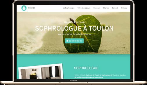 création site sophrologue sophro marseille