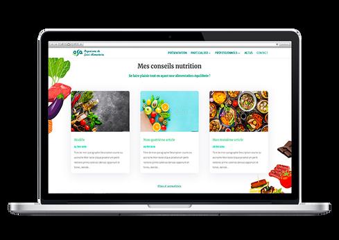 création site médecin nutritionniste marseille