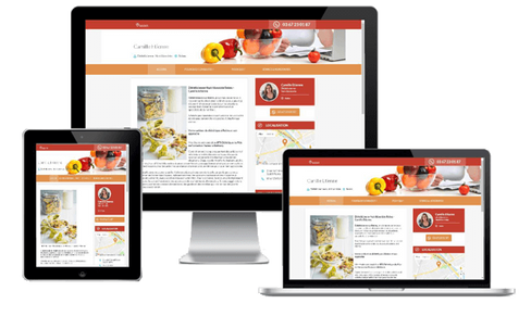 création site diététicien diététicienne marseille