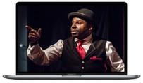 Création de site web pour comédien - comédienne