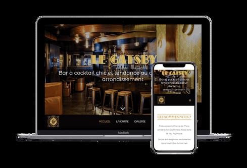 création site restaurant tapas marseille