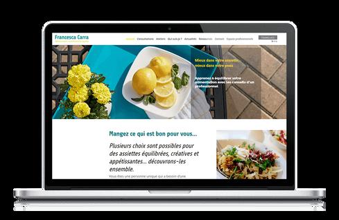 création site diététique marseille