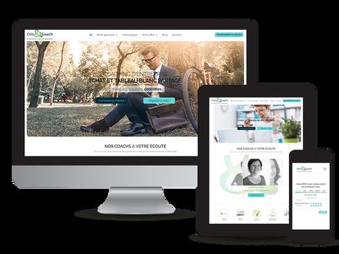création site web coach développement personnel marseille