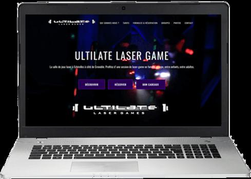 création site web laser game activités marseille