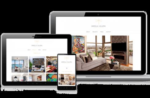 création site web designer d'intérieur architecte d'intérieur marseille