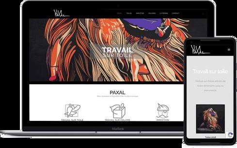 création site artiste peintre marseille