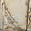 waney edge oak slab. No # 49. Kiln dried Oak slab for sale