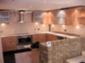 New  kitchen fitted by local  carpenters in Whitstable