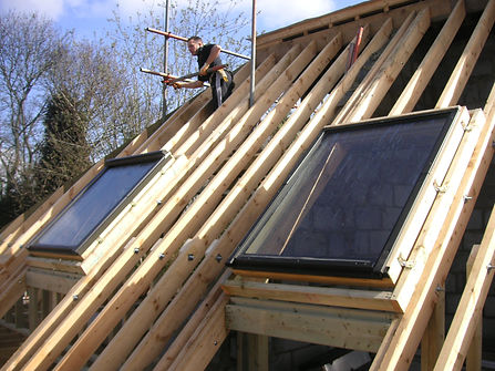 carpenters in Kent fitted velux windows