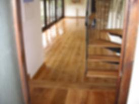 wide board oak floor in Faversham Kent