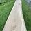 ak waney edge shelves, rustic waney edge oak shelf 1m long