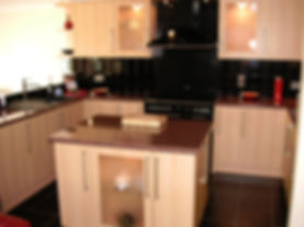 New  kitchen fitted by local  carpenters in Faversham