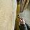 Prime grade waney edge oak slab. No # 59. Kiln dried Oak slab for sale