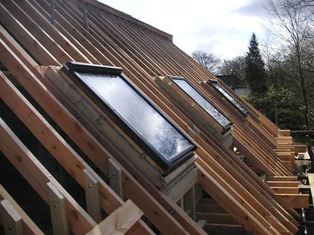 Carpenters in Kent fitting velux roof windows
