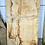 Waney edge oak slab.  No. #77 . Kiln dried Oak Slab for sale