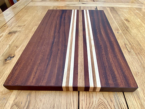 Racing Stripes Hardwood wooden chopping boards