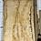 waney edge oak slab. No # 58. Kiln dried Oak slab for sale