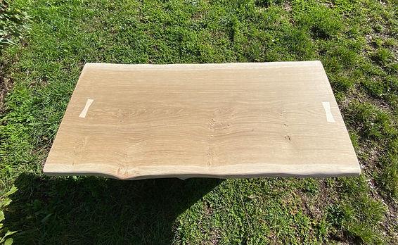 waney edge oak slab coffee table..jpeg