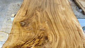 Air dried Prime Grade Waney Edge Oak Slab for sale