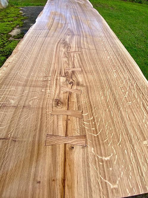 Oak slab Desktop 2.5m Long
