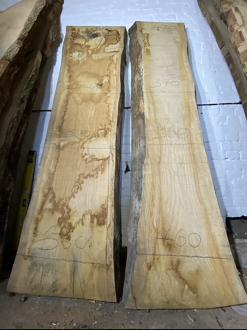 Pair of   English Oak Slabs